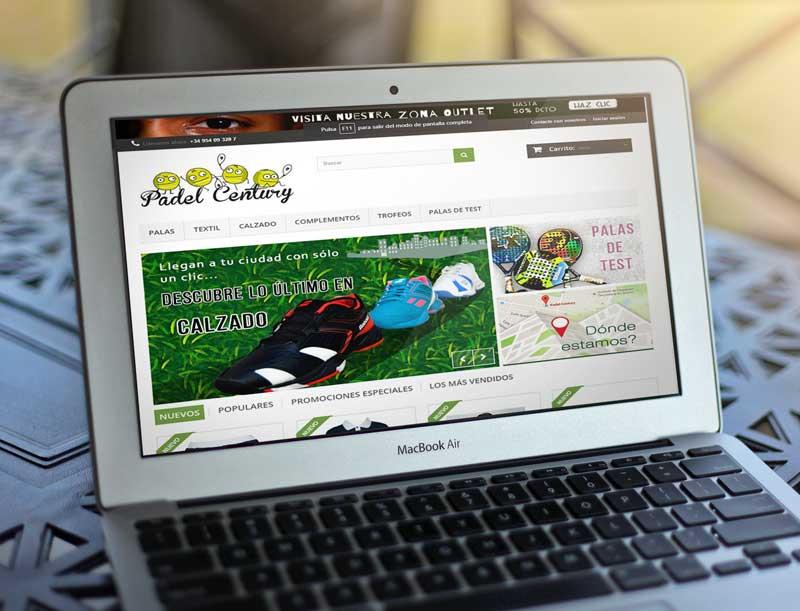 Proyecto Web Padel Century