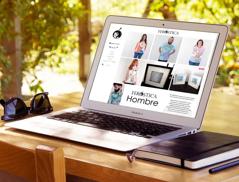 DIseño web: Proyecto ecommerce Feróstica (tienda de ropa online)