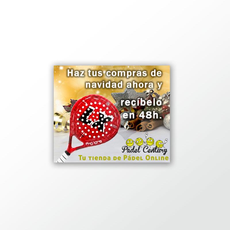 Banner campañan de navidad de Padel Century