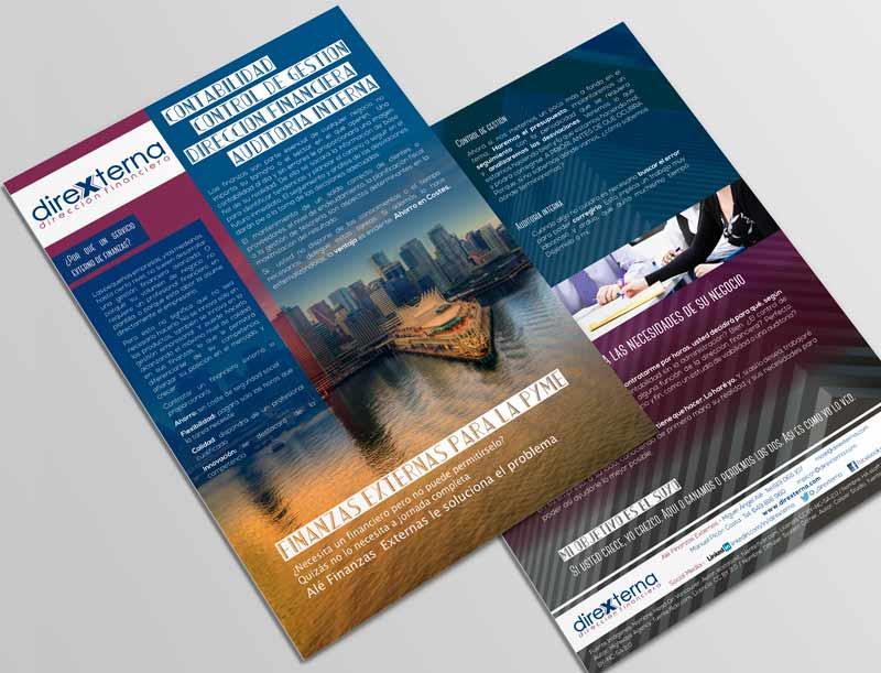 Brochure corporativo Direxterna