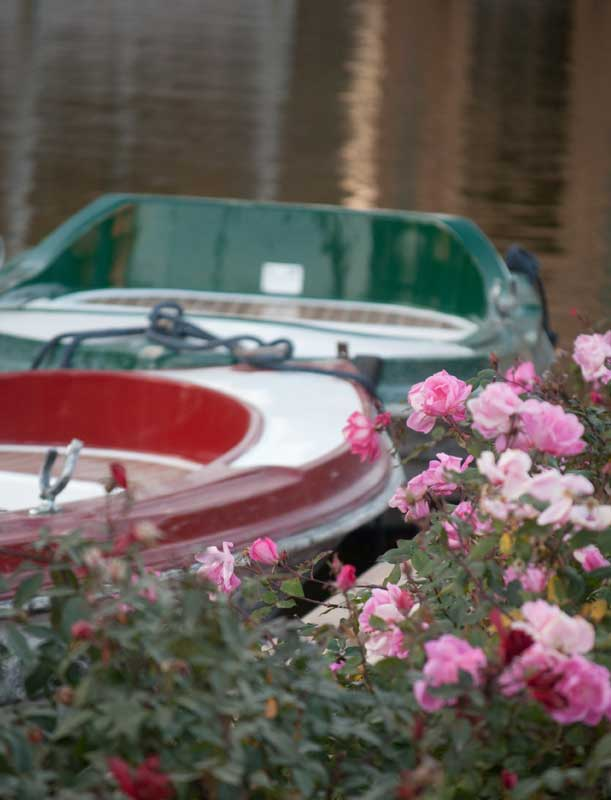 Barcas de la PLaza de España Sevilla