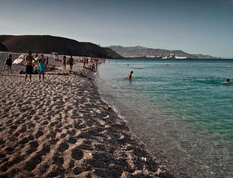 FOtografía playa de los muertos